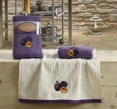 Полотенца махровые кухонные