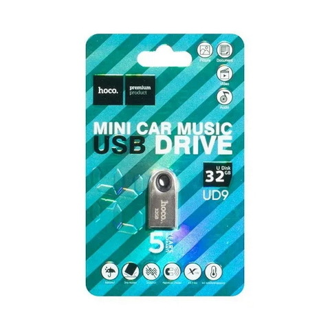 Накопитель HOCO USB Insightful Smart Mini Car UD9 32GB, silver