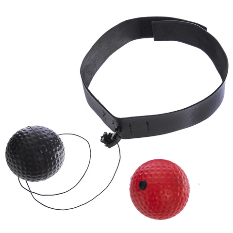 Тренажер для бокса с двумя мячами fight ball