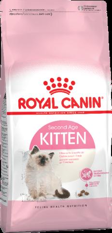 Royal Canin Kitten для котят от 4 до 12 месяцев