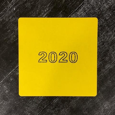 Трафарет новогодний 2020 №27