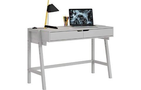 Стол письменный Polini kids Mirum 1440 низкий, серый