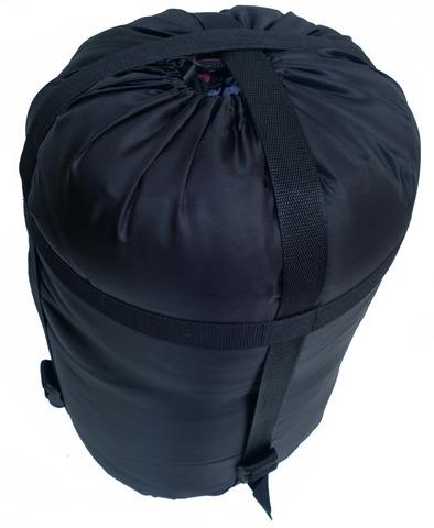 Спальный мешок INDIANA Traveller Extreme, в собранном виде.