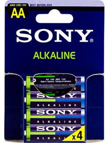 Батарейки Sony Alkaline LR6, AA (4/48) BL
