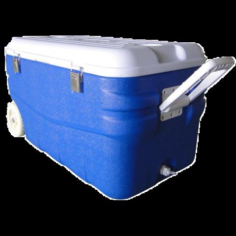 Изотермический контейнер (термобокс) Арктика (100 л.), синий