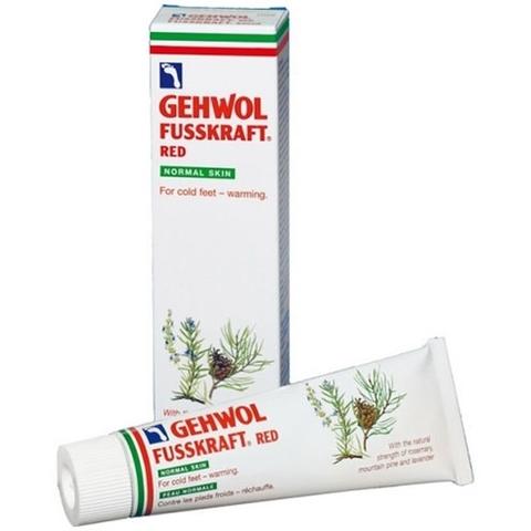 Красный бальзам для сухой кожи GEHWOL Fusskraft Red Dry Rough Skin 75 мл