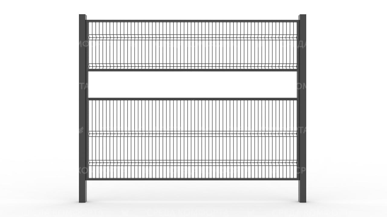 Забор 3Д ZBR0069