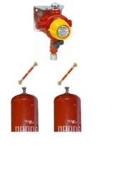 Газобаллонная система GOK (Оптима) для 2 металлических баллонов