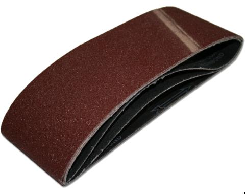 Лента шлифовальная ПРАКТИКА 100 х 610 мм  P150 (10шт.) коробка (037-954)