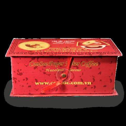 Молотый кофе Белочка Con Soc Red, подарочная 160 гр.