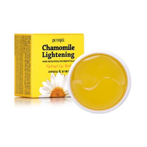 Petitfee Гидрогелевые патчи для глаз с ромашкой Chamomile Lightening Hydrogel Eye Patch, 60 шт