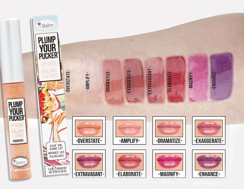 The Balm Plump Overstate