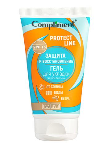 Сompliment Protect Line Гель для укладки Защита и восстановление от солнца, воды, ветра, средней фиксации