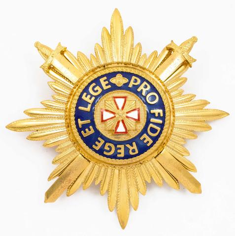 Звезда ордена Белого орла с мечами (копия)