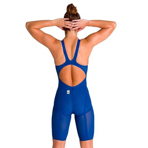 (2020) Стартовый костюм ARENA Powerskin Carbon Glide Open Back ocean blue  ПОД ЗАКАЗ