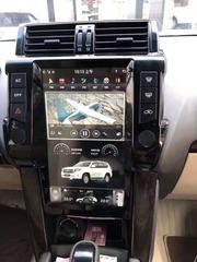 Магнитола для Toyota Prado 150 (2013-2017) стиль Tesla Android 9.0 4/64GB IPS DSP модель ZF-1801-DSP