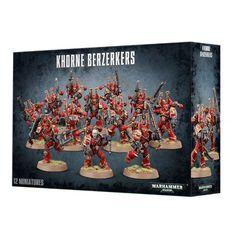 Chaos Space Marines Khorne Berzerkers. Коробка