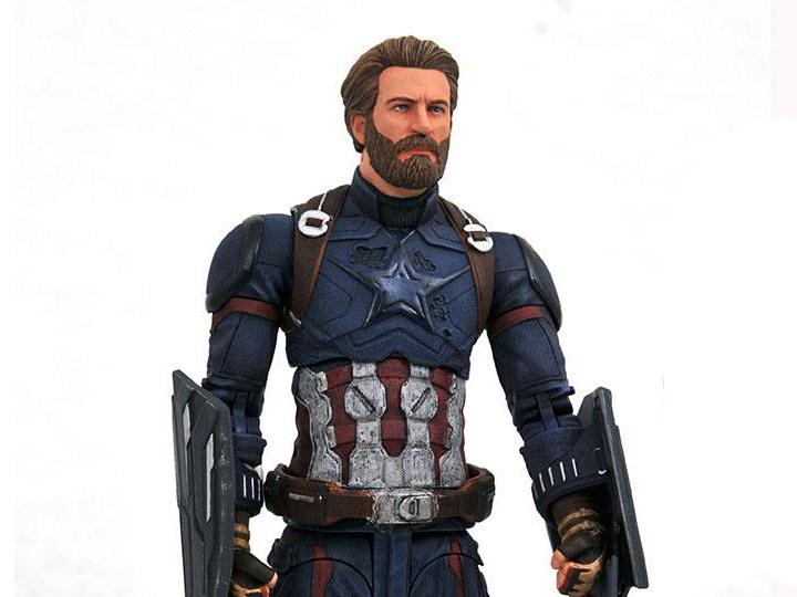 Фигурка Капитан Америка Мстители: Война Бесконечности Marvel Select