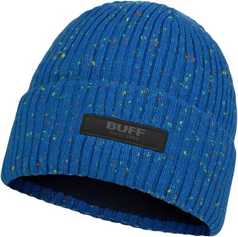 Шапка вязаная с флисом детская Buff Hat Knitted Polar Jorg Olympian Blue фото 1