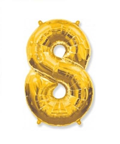 Цифра восемь - золото
