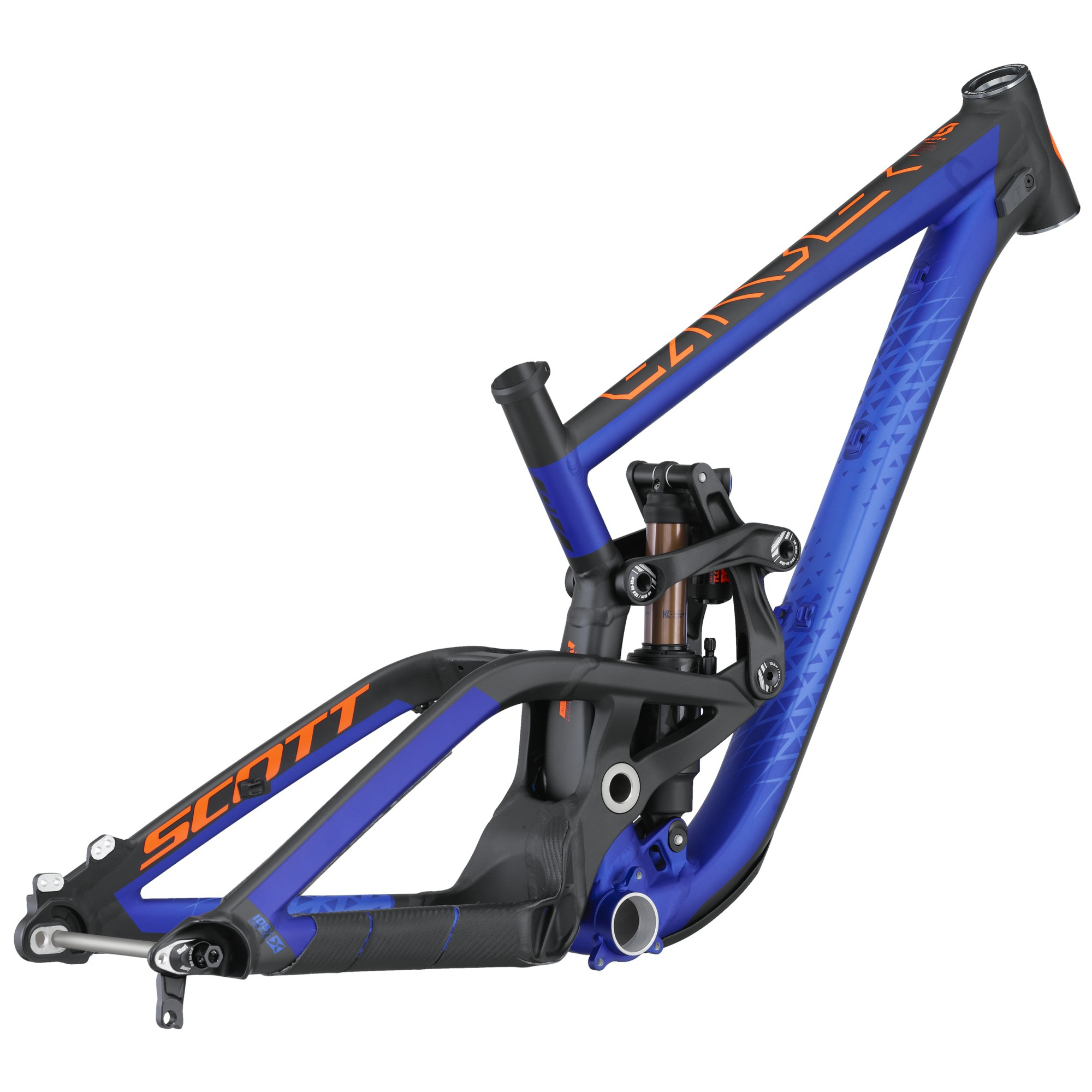 Scott Gambler 710 Frame Set (2016)
