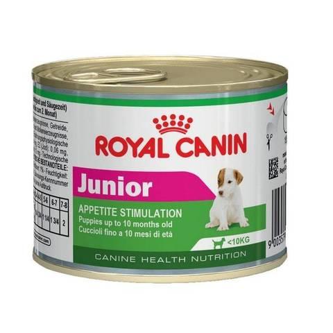 ROYAL CANIN Консервы для щенков в возрасте до 10 месяцев Junior