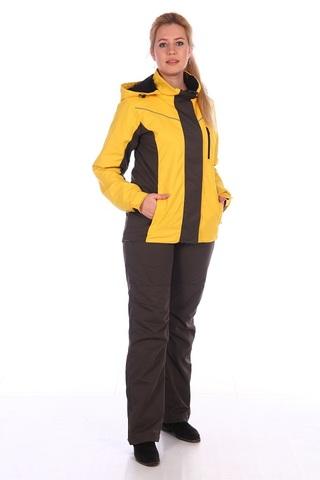 Женский демисезонный костюм Амур (мембрана Жёлтый)