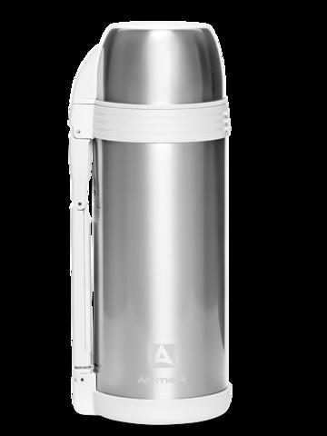 Термос универсальный для еды и напитков Арктика (205-1800) 1,8 литра с широким горлом, стальной