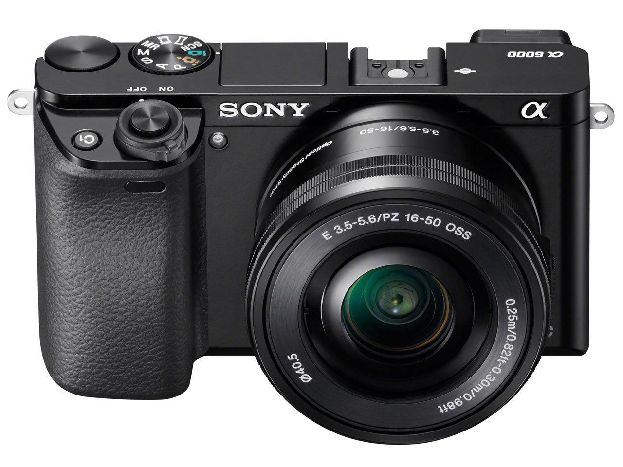 ILCE-6000LB фотоаппарат Sony Alpha A6000 Kit, черный