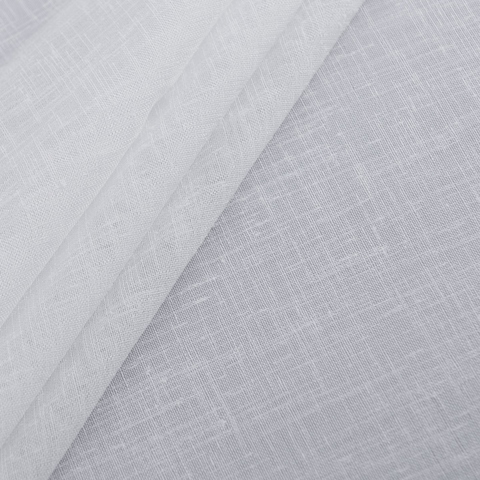 Ткань хлопок Иви белый