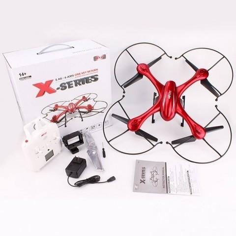 Радиоуправляемый квадрокоптер MJX X102H с HD FPV камерой C4018 и барометром