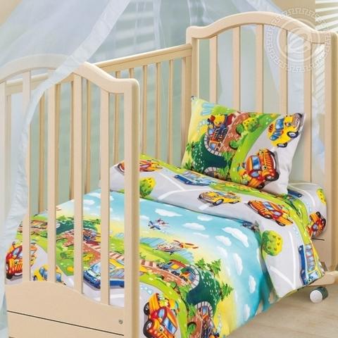 Детское постельное бельё Детский парк БЯЗЬ ЯСЕЛЬНАЯ