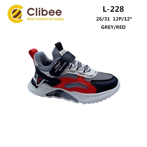 Clibee L228 Grey/Red 26-31
