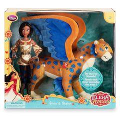 Набор кукол Принцесса Елена и говорящий Скайлар, Дисней