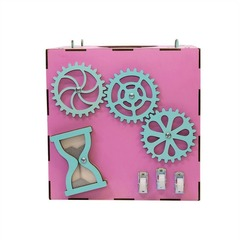 Розовый Бизи-куб Чудесный