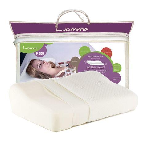 Ортопедическая подушка Luomma F-502 (12 см) с эффектом памяти (анатомическая)