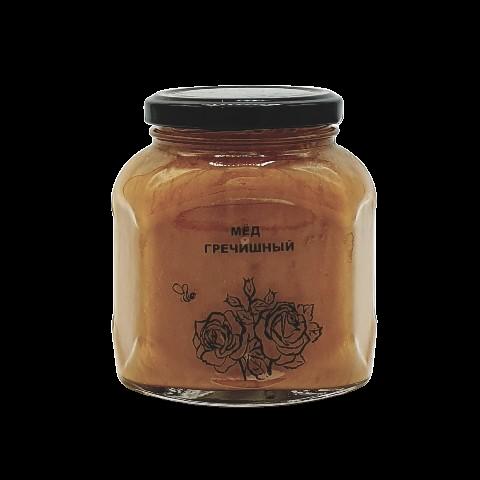 Мёд натуральный ГРЕЧИШНЫЙ, 500 гр