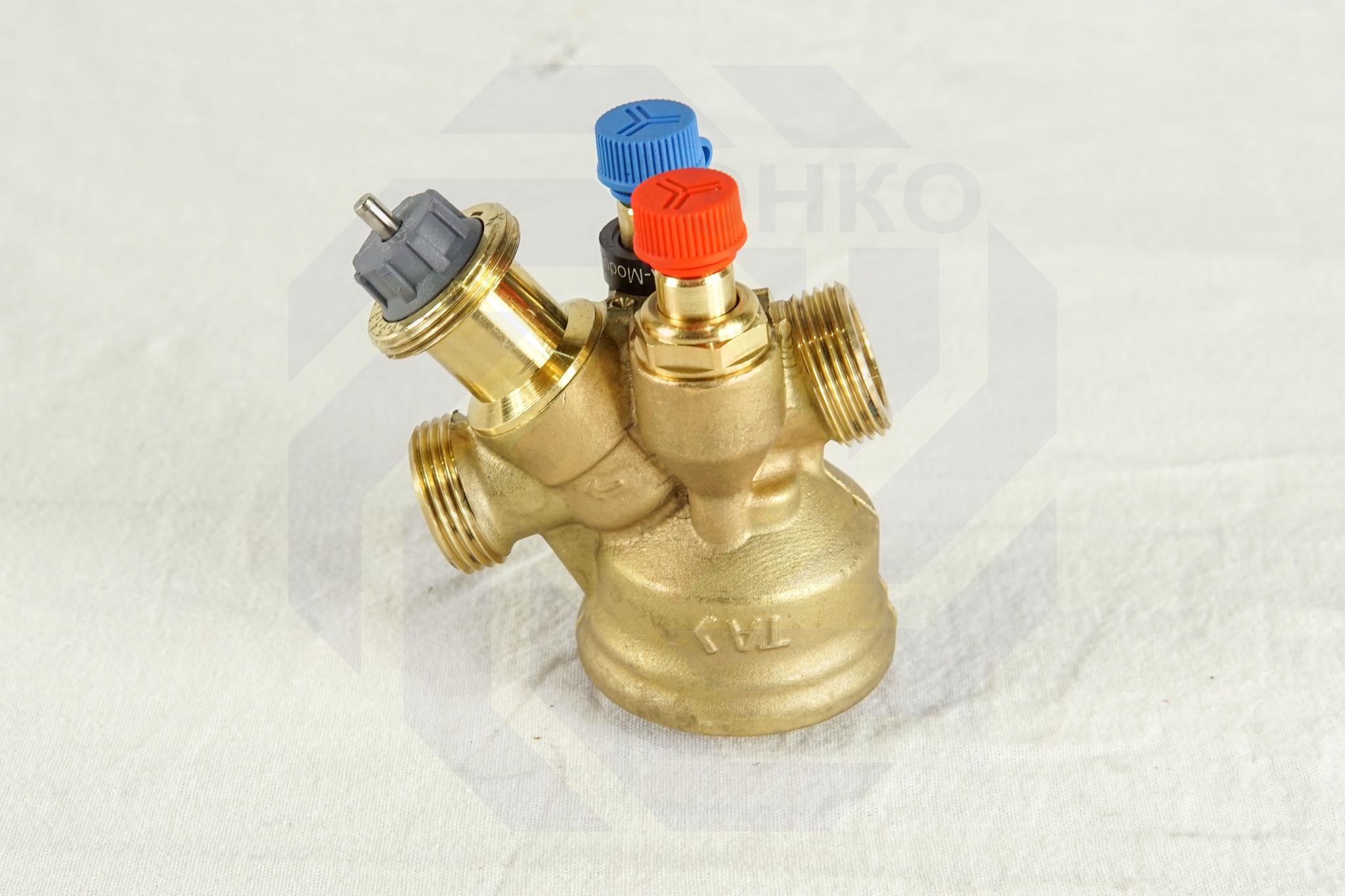 Клапан балансировочный и регулирующий IMI TA-Modulator DN 15
