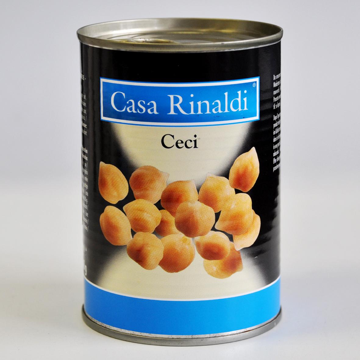 Чечи Casa Rinaldi горох нут 400 г