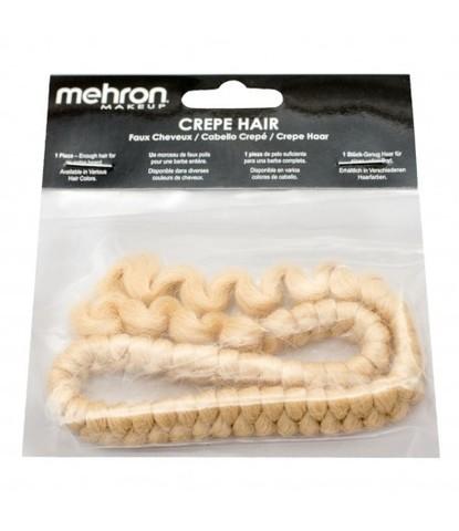Шерсть креп (искусственные волосы) Mehron блонд