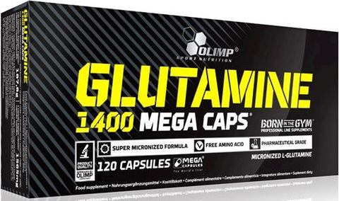 Глютамин Olimp Glutamine 1400 Mega Caps