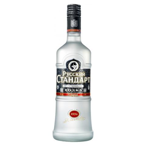 Водка Русский стандарт 40* Алкомаркет 0,7л