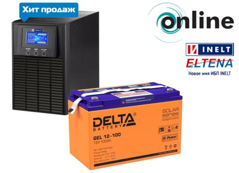 Комплект MONOLITH E1000LT-12V+GEL 12-100