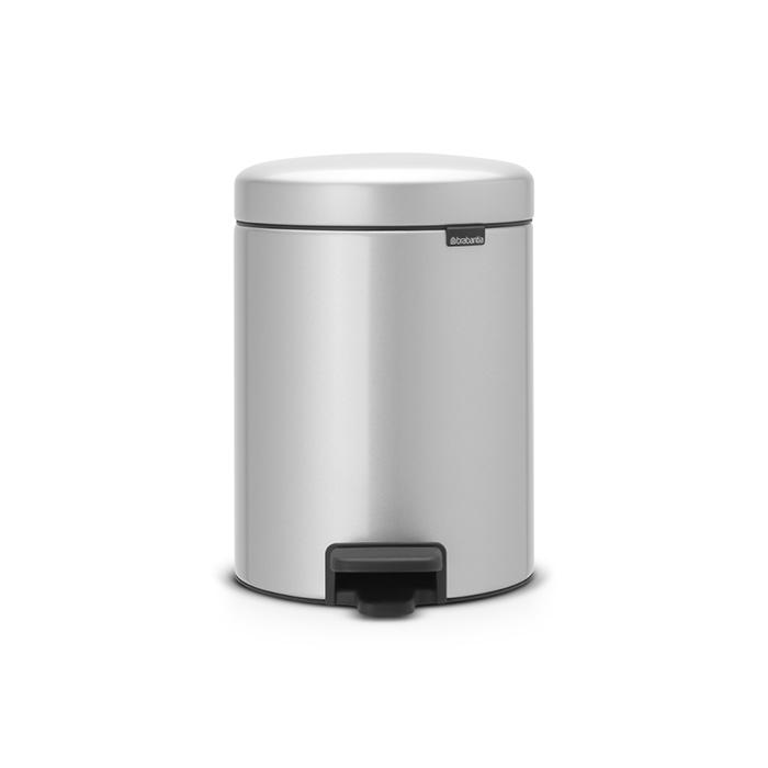 Мусорный бак newicon (5 л), Серый металлик, арт. 112904 - фото 1
