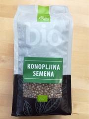 Семена конопли Bufo Organic БИО 400г (Словения)