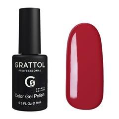 Grattol, Гель-лак 021, Red Wine, 9 мл