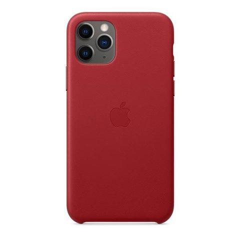 Чехол для iPhone 11 Pro Max - Кожаный (Leather Case)