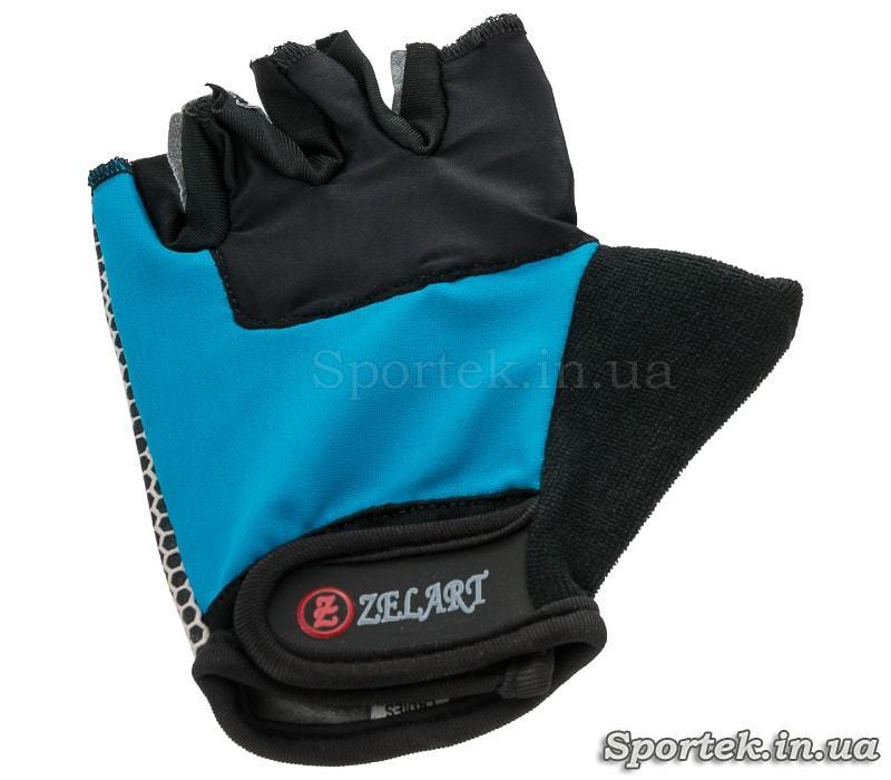 Велосипедные перчатки Zelard c открытыми пальцами