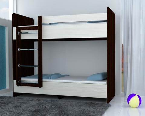 Кровать ДАЙСЕН-1600-0800 /1632*1604*952/ левая