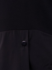 Аника. Стильная кофточка для женщин плюс сайз. Черный.